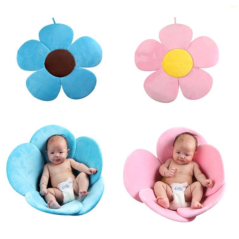 infant baby bath tub toddler safe soft
